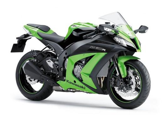 Kawasaki Zx10r Et Zx6r En Vert Ou Noir Et Puis C Est Tout