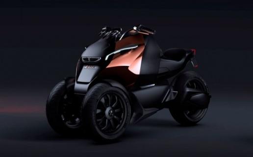 peugeot onyx supertrike un proto 3 roues. Black Bedroom Furniture Sets. Home Design Ideas