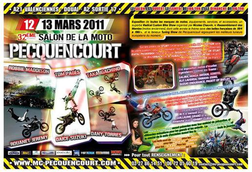 Reportage sur le 32 me salon de la moto de pecquencourt for Salon de pecquencourt