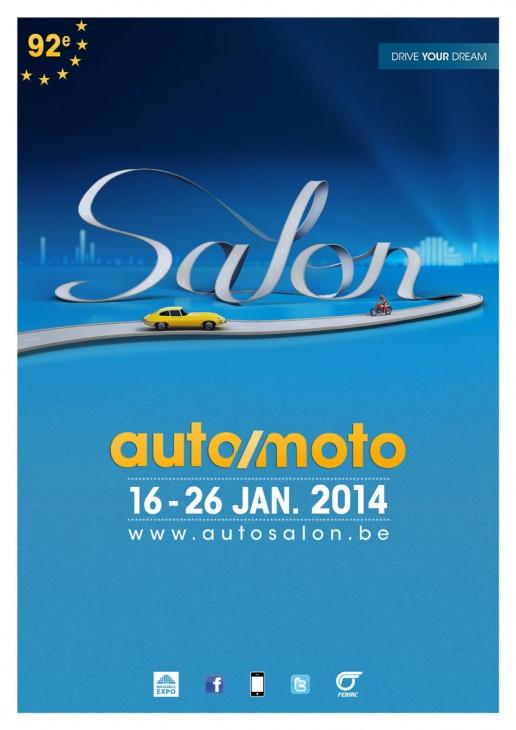 Salon de bruxelles 2014 objectif moto for Salon de bruxelles