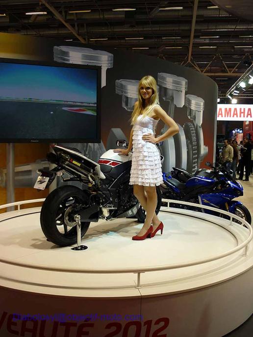 Yamaha 2012 au salon de la moto de paris objectif moto for Salon de la photo paris