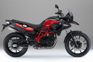 F700GS Rouge