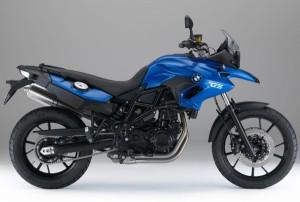 F700GS Bleue