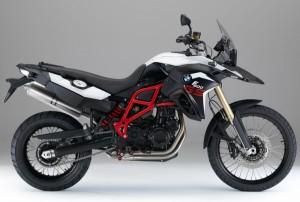 F800 GS Blanc/Noir