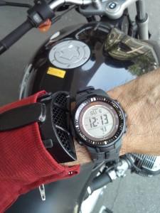 Gare aux rayures sur votre montre! (Photo: Matsuo Basho)