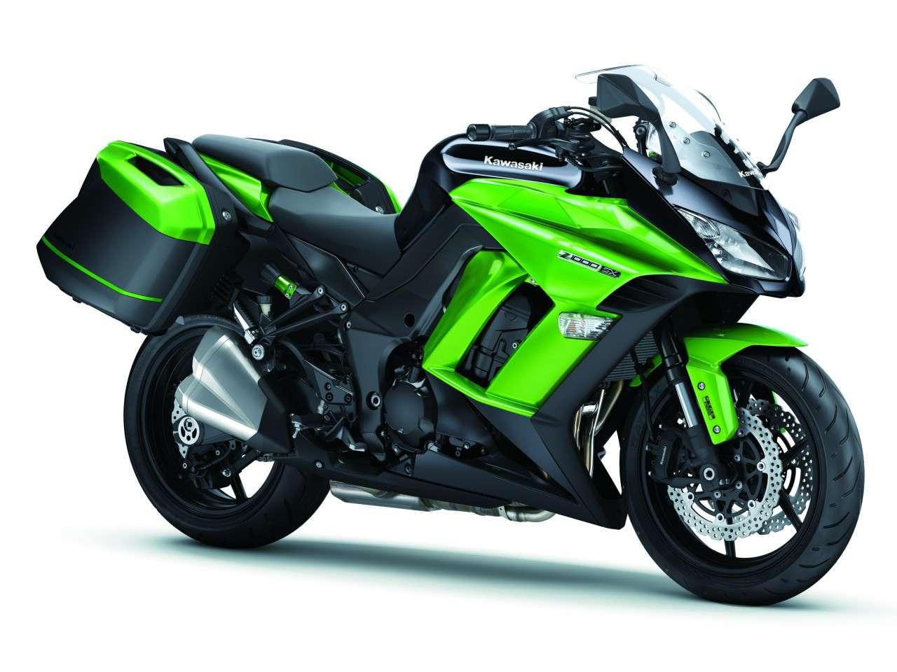 Les nouvelles couleurs de la Kawasaki Z1000 SX 2015