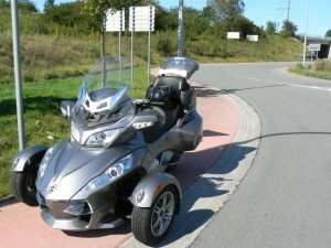 can-am Spyder RTS 2011