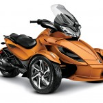 BRP Can-am Spyder RTS le grand luxe sur trois roues