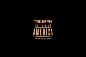 triumph rides america
