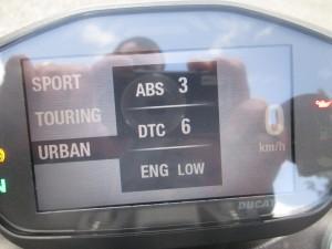 Paramètres ABS/DT/Engine