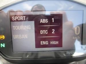 Paramètres ABS/DTC/Engine
