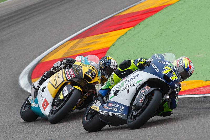 Moto2 – Thomas Lüthi – 4e et meilleur pilote suisse à Aragon !