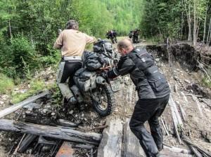 test IXS sur la western BAM en Russie
