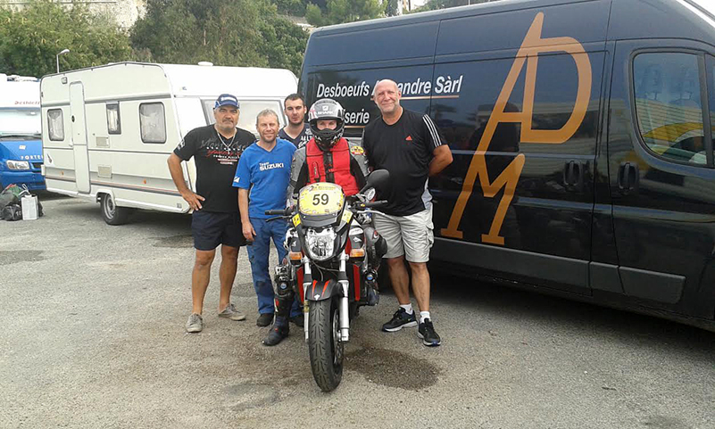 Dark Dog Moto Tour – Julien Claude – 2ème en catégorie première participation