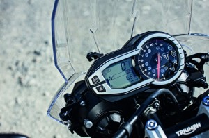 Tiger 800 XRx Rider modes