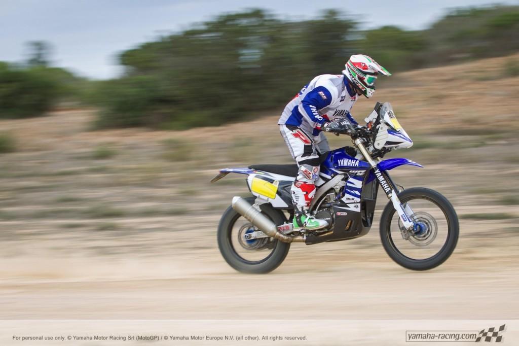 La Yamaha WR450F Rally 2015 prête pour le Dakar