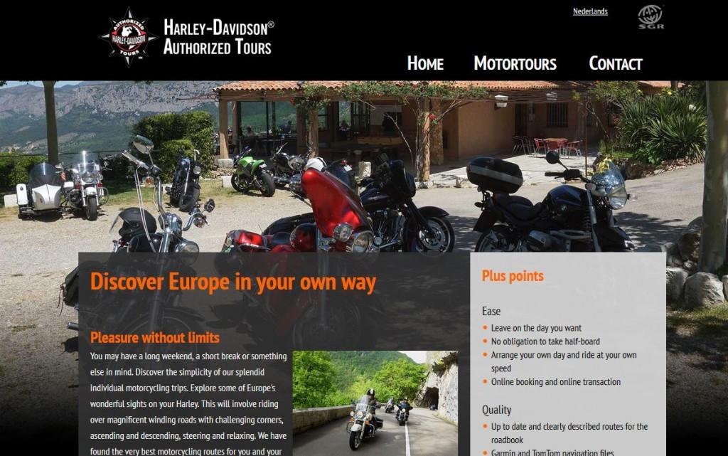 Le tour opérateur d'Harley-Davidson va vous faire voyager.