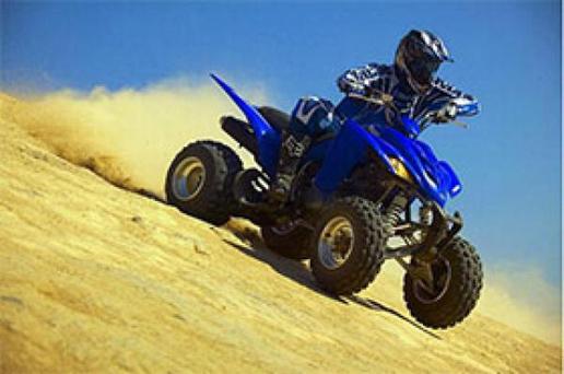 Essai du Quad Yamaha YFM 350 R