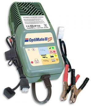 Essai du Chargeur de batterie OptiMate IIISP