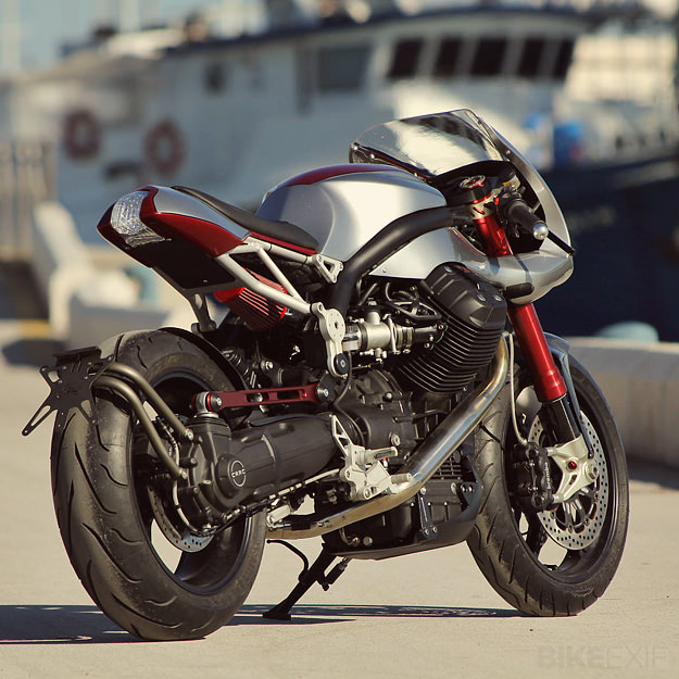 moto guzzi griso ipothesys tuning italien. Black Bedroom Furniture Sets. Home Design Ideas