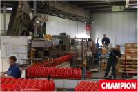 Visite de la Wolf Oil Corporation Champion Motor Oil