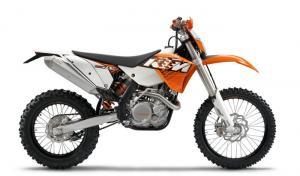 KTM EXC 125 et 530 – 2011