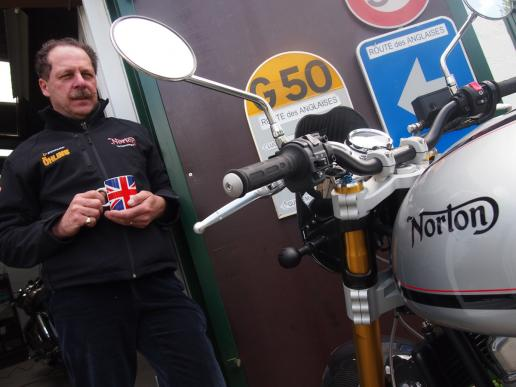 Norton Commando 961 SF – 2014