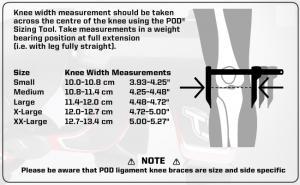 Test orthèses de genou POD K300