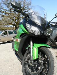 Kawasaki Z1000SX 2011: rencontre d'un nouveau type