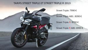 Triumph Street Triple R – 675 – 2013