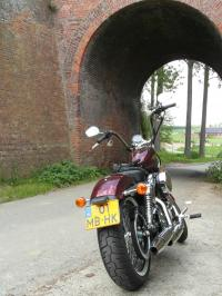 Harley-Davidson Sportster 72 le Low rider des seventies