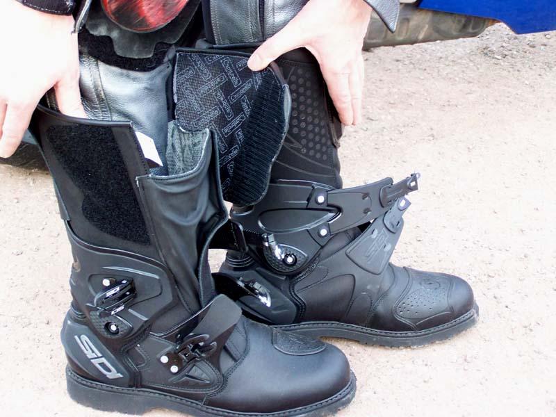 Bottes de moto Sidi Racing