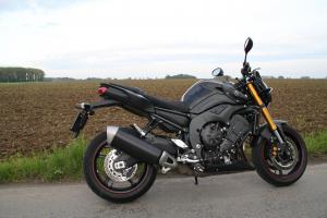 Essai Yamaha FZ8