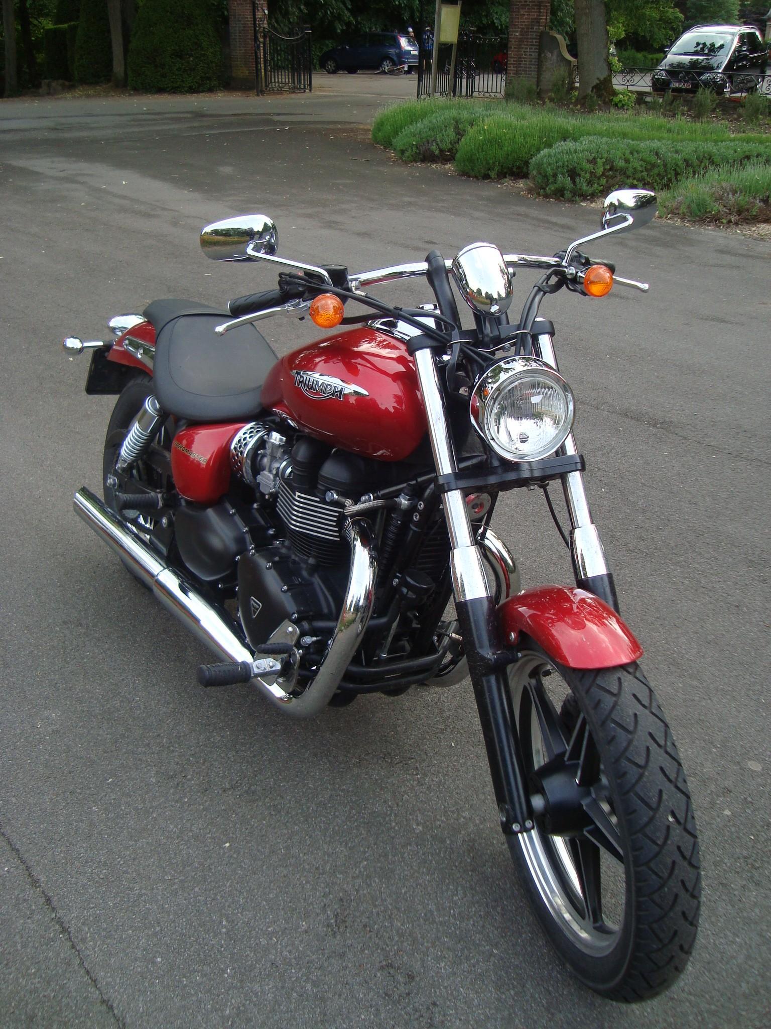 Triumph Speedmaster 2011 Objectif Moto
