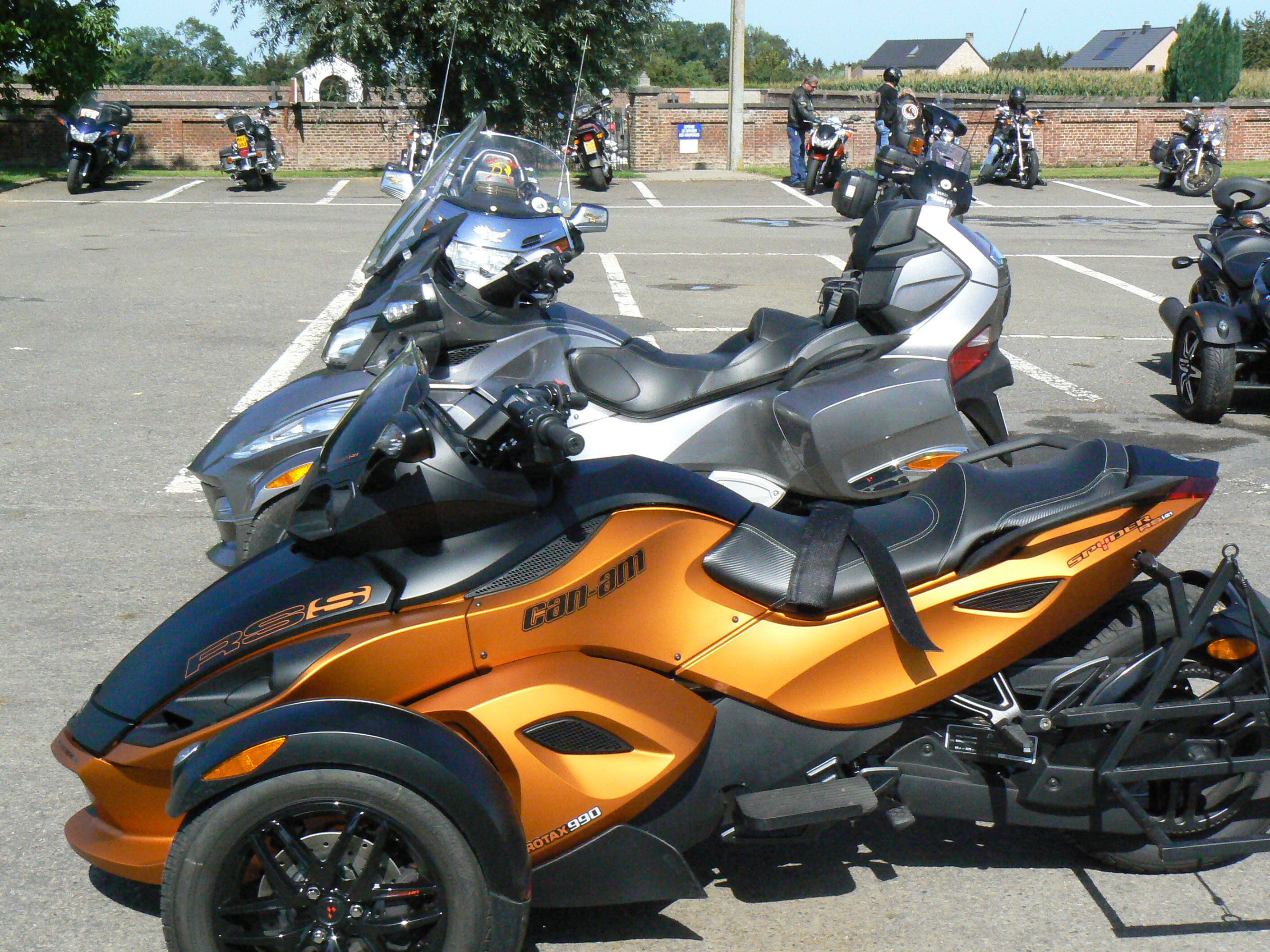 can am spyder rt s pour du tourisme sur 3 roues objectif moto. Black Bedroom Furniture Sets. Home Design Ideas