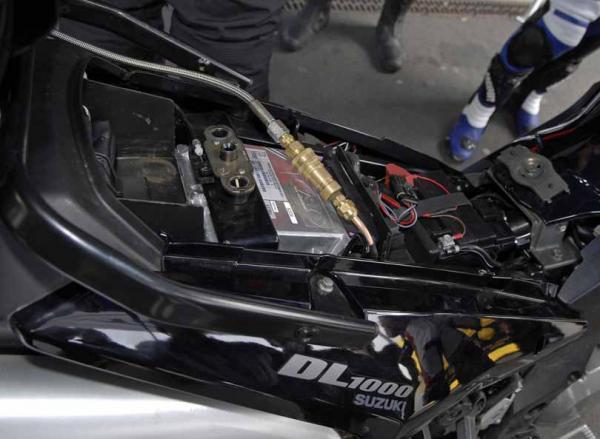 Prototype Suzuki DL1000 V-Strom LPG
