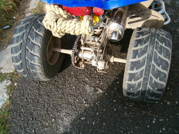 Pneus quad Kenda Speedracer