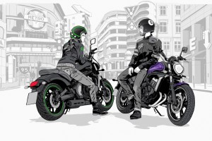 15MY _ Vulcan S _ Illustration _ City