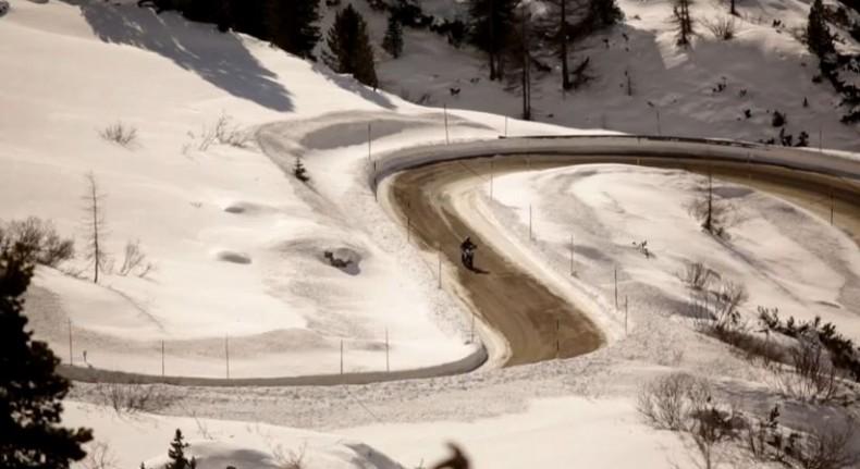 ducati multistrada winter tour 2