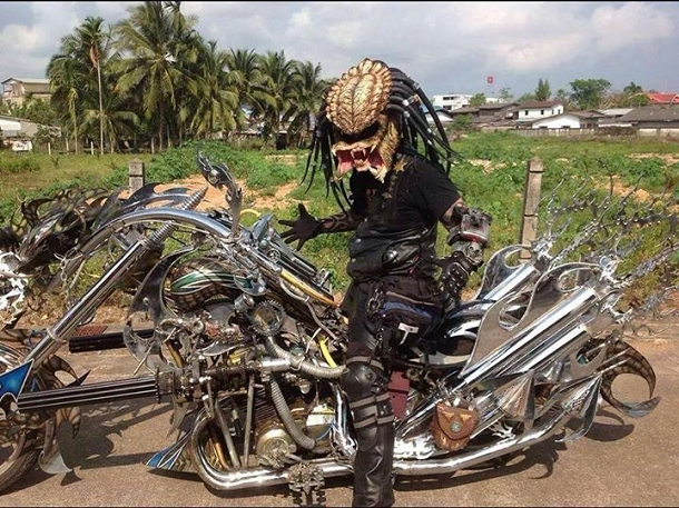 Casque De Moto Predator prédator est donc motard | objectif-moto