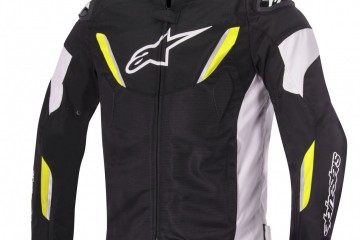 alpinestars TGP R AIR_jacket_BLACK WHITE yellow fluo