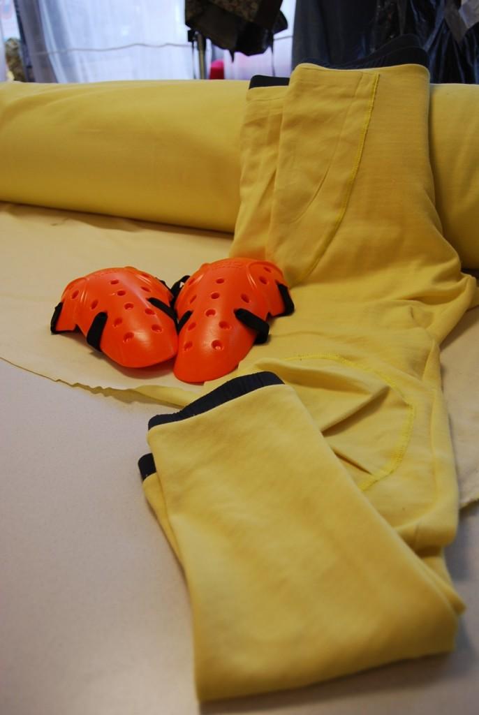 Les collants kevla BowTex et les protections additionnelles
