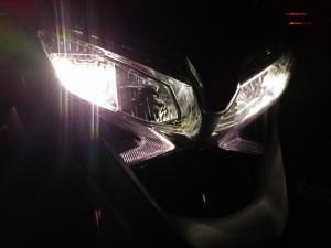 L'éclairage 100% LED est une qualité marquante de la Crossrunner