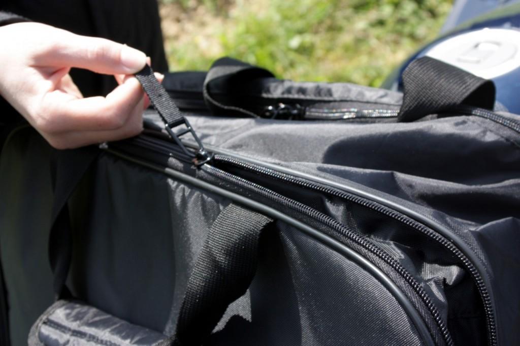 De belle qualité, le sac interne est doté d'un soufflet d'aisance.
