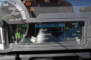 La BMW R1200RT au brevet des 500 kms