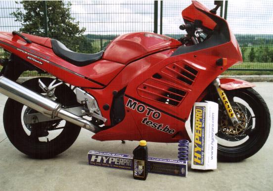 Kit 3 ressorts et huile de fourche pour RF600R.