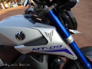Yamaha MT-09 un peu plus près des étoiles