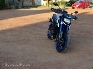 Yamaha MT-09 Street Rally4