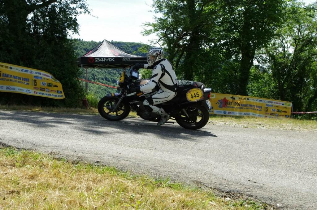 Eddy et son premier rallye en championnat de France des rallyes