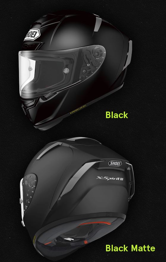 shoei xspirit 3